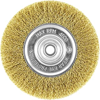 EAB Tool 2160447 6 Brass Coarse Wire Wheel Wire Brush - Recyclable