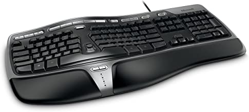 Microsoft Natural Ergonomic Keyboard 4000 for Business - Wired (Renewed)