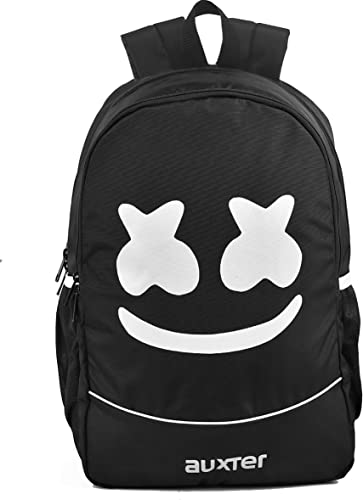 Marshmallow 33 Ltrs Black School Bag Casual Backpack 3 Compartments