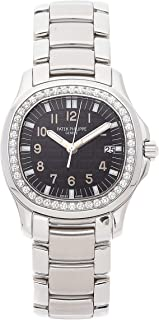 Patek Philippe Aquanaut Quartz (Battery) Black Dial Womens Watch 5087/1A-001 (Certified Pre-Owned)