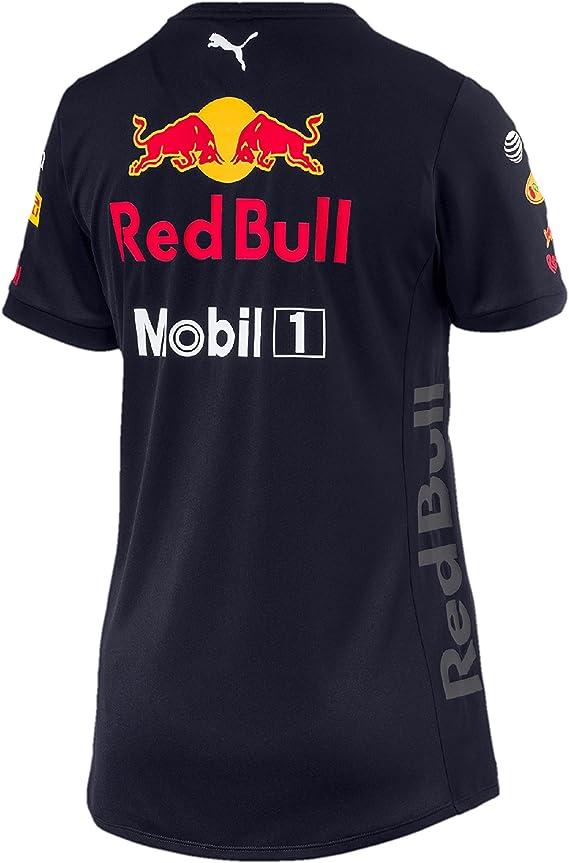 Aston Martin Red Bull Racing F1 Puma Team Camiseta Mujer Azul Oficial 2018