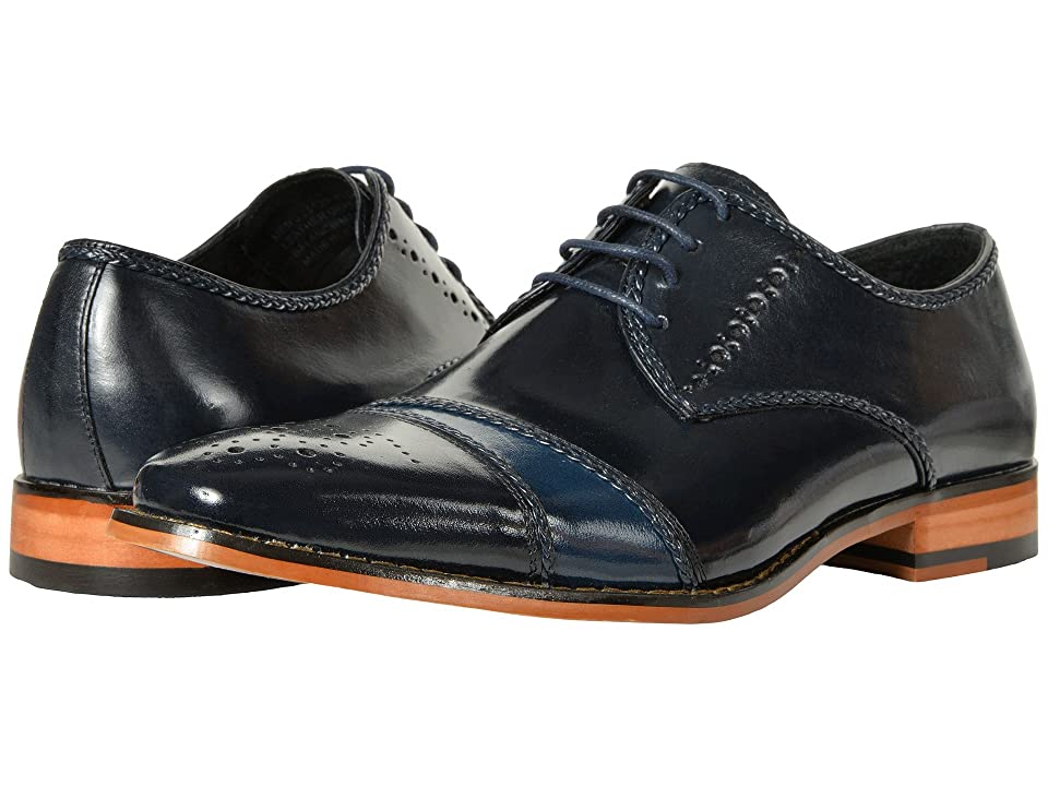 Stacy Adams Talbot (Navy/Cobalt) Men