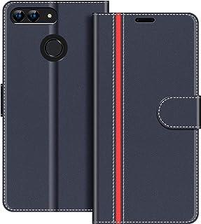 comprar comparacion COODIO Funda Huawei P Smart con Tapa, Funda Movil Huawei P Smart 5.65 Pulgadas, Funda Libro Huawei P Smart Carcasa Magnéti...
