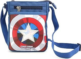 MARVEL HERO Spiderman Avengers Ironman Captain Cross Body Bag Messenger Shoulder Phone Bag