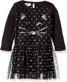 Mud Pie Girls' Toddler Halloween Mesh Tutu Cat Dress