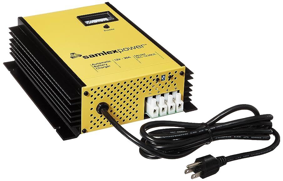 Samlex Solar SEC-1230UL SEC-UL Series 12V Battery Charger