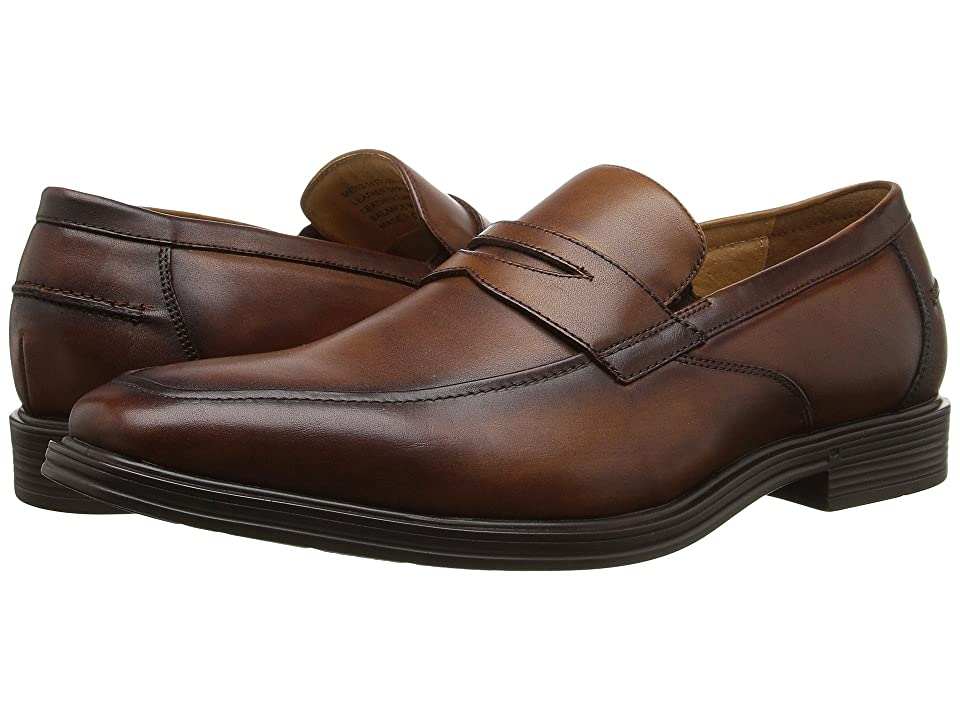Florsheim Heights Penny Slip-On (Cognac Smooth) Men