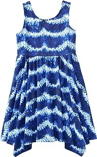 Gymboree Girls' Sleeveless Printed Handkerchief Dress