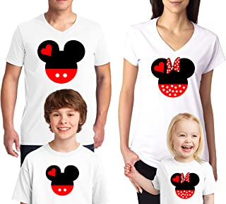 fbb42f8cb61eae Disney Family Mickey Minnie Mouse Family Disney T-Shirts for Dad Mom Youth  Kids