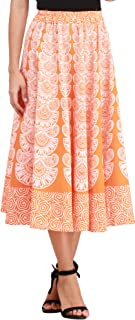 Exotic India Cotton Skort Skirt