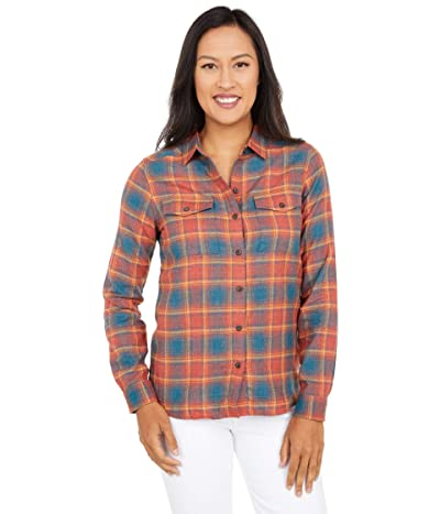 Toad&Co Re-Form Flannel Shirt (Auburn) Women