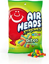 Airheads Xtremes Bites Rainbow Berry Peg Bag, Halloween Candy, Bulk, 6 Ounce (Pack of 12)