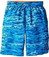 Speedo Kids - Sharkamo Volley Shorts (Little Kids/Big Kids)