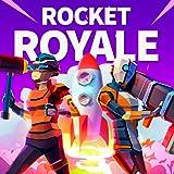 Large open world battlefield. Rocket Royale: PvP Survival