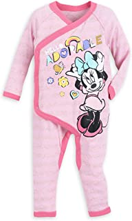 Disney Minnie Mouse Stretchie Sleeper for Baby Size 18-24 MO Multi