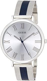 Guess W1155L2 analog Stainless Steel Dress Watch For Women - Silver
