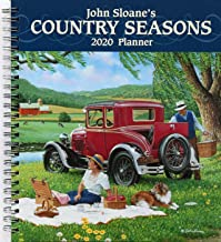 John Sloane's Country Seasons 2020 Monthly/Weekly Planner Calendar