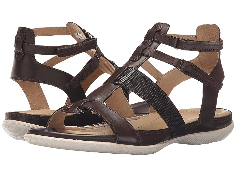 ECCO Flash Ankle Sandal (Coffee/Coffee) Women