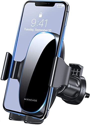 high quality [2021 Upgraded-2nd Generation] high quality Miracase Universal Phone Holder for Car, Air Vent Car Phone Holder Mount Compatible with iPhone 12 Pro Max/11 Pro Max/SE/XR/XS/8 Plus and high quality All Phones,Black online