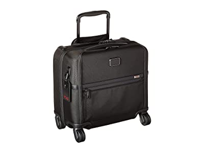 Tumi Alpha 3 Compact 4 Wheeled Brief (Black) Luggage