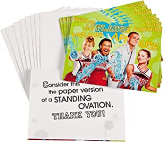 Fun Express - Glee Thank You Notes for Party - Party Supplies - Licensed Tableware - Licensed Invitations - Party - 8 Pieces