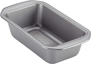 Circulon Nonstick Bakeware 9-Inch x 5-Inch Loaf Pan, Gray