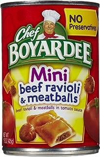 Chef Boyardee Mini Beef Ravioli & Meatball - 15 oz