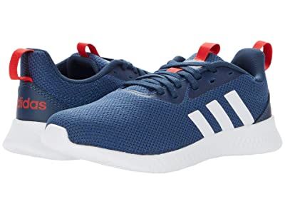 adidas Kids PUREMOTION (Little Kid/Big Kid) (Crew Navy/White/Vivid Red) Kid