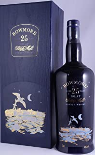 Rarität: Bowmore Moonlight 25 Jahre Whisky - Islay Single Malt Scotch Whisky 0,7l