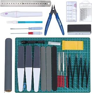 HSEAMALL33PCS Outils de modélisme ,Gundam Modeleur Basic Outils Craft Set,Bandai Hobby pour voiture modÈle assembler Kit