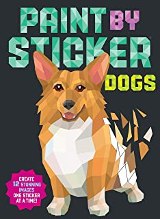 Dogs: Create 12 Stunning Images One Sticker at a Time!