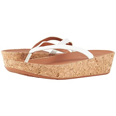 FitFlop Linny Toe Thong Sandals (Urban White) Women