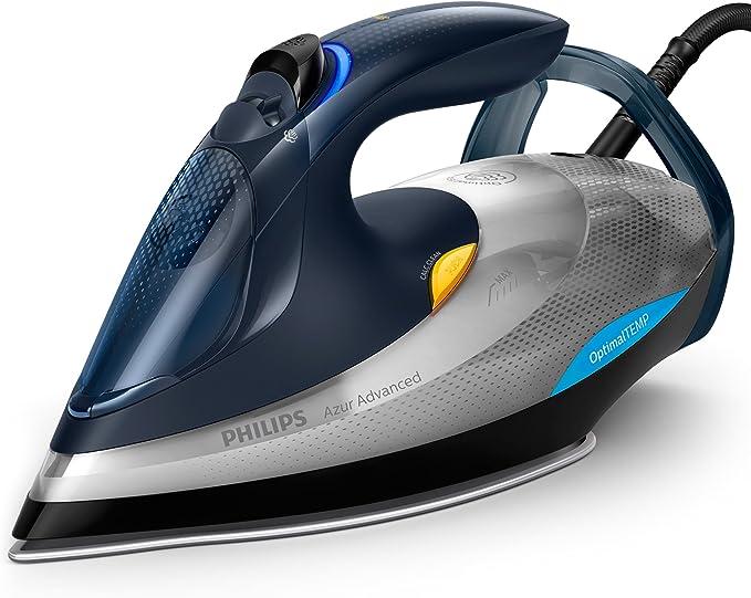 705 opinioni per Philips GC4930/10 Azur Advanced Ferro da Stiro con Tecnologia OptimalTEMP, 2400
