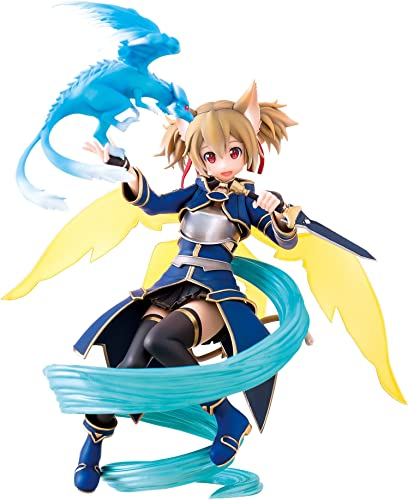 caliente Sword Art Art Art Online II Statue 1 8 Silica ALO Ver. 18 cm  buena calidad