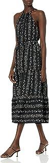 BCBGeneration womens Woven Halter Maxi Dress Dress