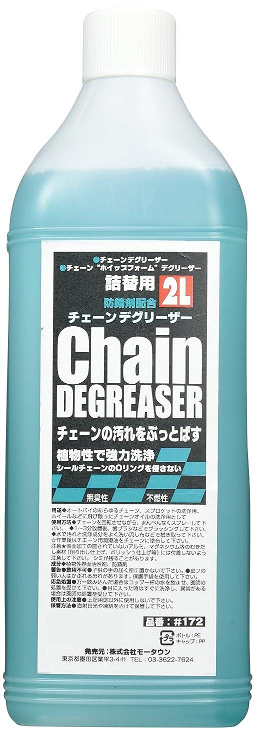 差時々イノセンスモータウン(MOTOWN) バイク用チェーン洗浄剤 チェーンデグリーザー詰替用 2?  #172