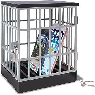 Schloss+ 2 Schlüssel Handyknast 15x19cm Gefängnis für Mobiltelefone incl