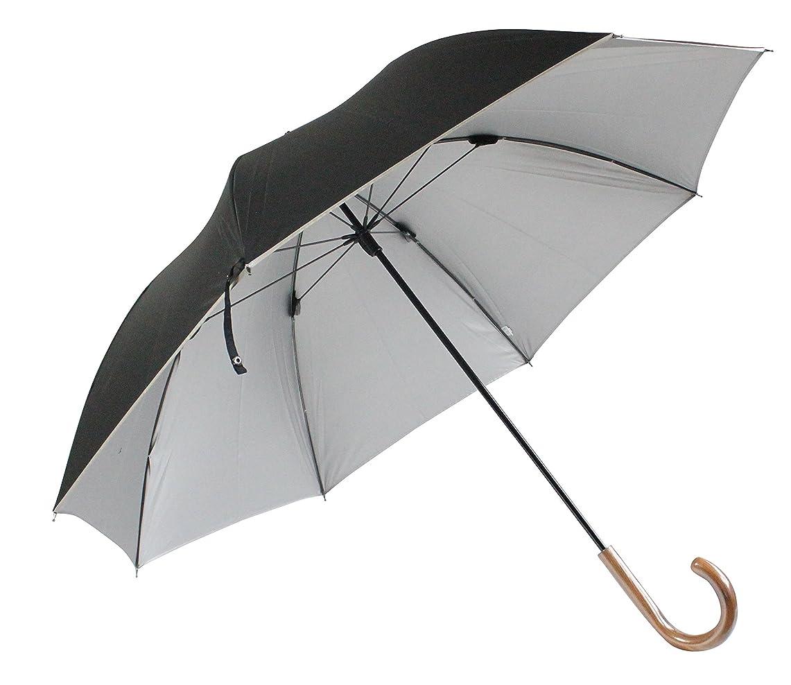 応じる美的競争力のある日光を遮断! 晴雨兼用 日傘 丈夫で高級な軽量カーボン骨×目立たない裏シルバー生地×直径116cmのMサイズ UV99%以上カット UPF50+ 65cm 手開き傘 (65cm)