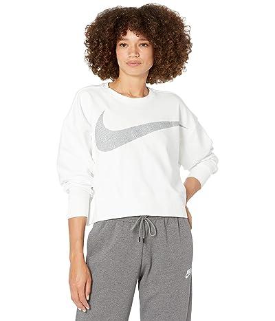 Nike Dry Get Fit Fleece C Pp1 Sparkle (White/Grey Fog) Women