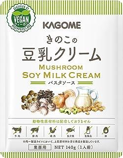 カゴメ きのこの豆乳クリーム 140g ×10袋