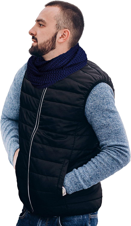 TINKUY PERU 100% Alpaca Peruvian Knit Women's & Men's - Cute & Cozy - Infinity Scarf Wrap