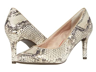 Rockport TM75MMPTH Plain Pump (Beige Snake) Women