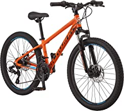 Schwinn High Timber Youth/Adult Mountain Bike, Aluminum and Steel Frame Options, 7-21 Speeds Options, 24-29-Inch Wheels, M...