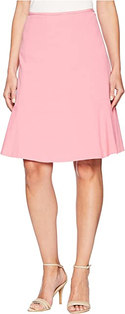 Bi Stretch Flared Hem Skirt