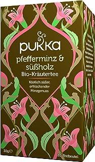 Pukka Bio-Tee Pfefferminz & Süßholz 80 Teebeutel, 4er Pack 4 x 20 beutel