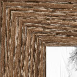 """Best ArtToFrames 18x24 Inch Brown Picture Frame, This 1.25"""" Custom Poster Frame is Medium Brown Oak - Barnwood Style, for Your Art or Photos, WOM76808-971-18x24 Review"""