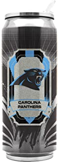 NFL Carolina Panthers 16oz Double Wall Stainless Steel Thermocan