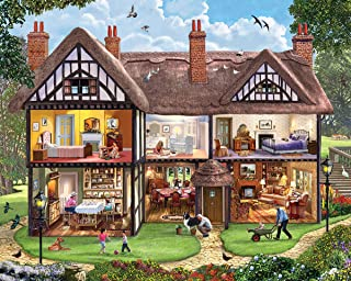 White Mountain Puzzles Summer House - 1000 Piece Jigsaw Puzzle