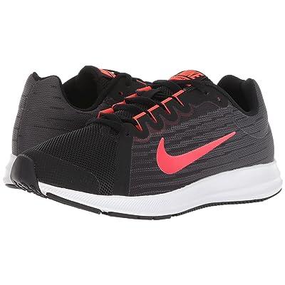 Nike Kids Downshifter 8 (Big Kid) (Black/Bright Crimson/Dark Grey/White) Boys Shoes