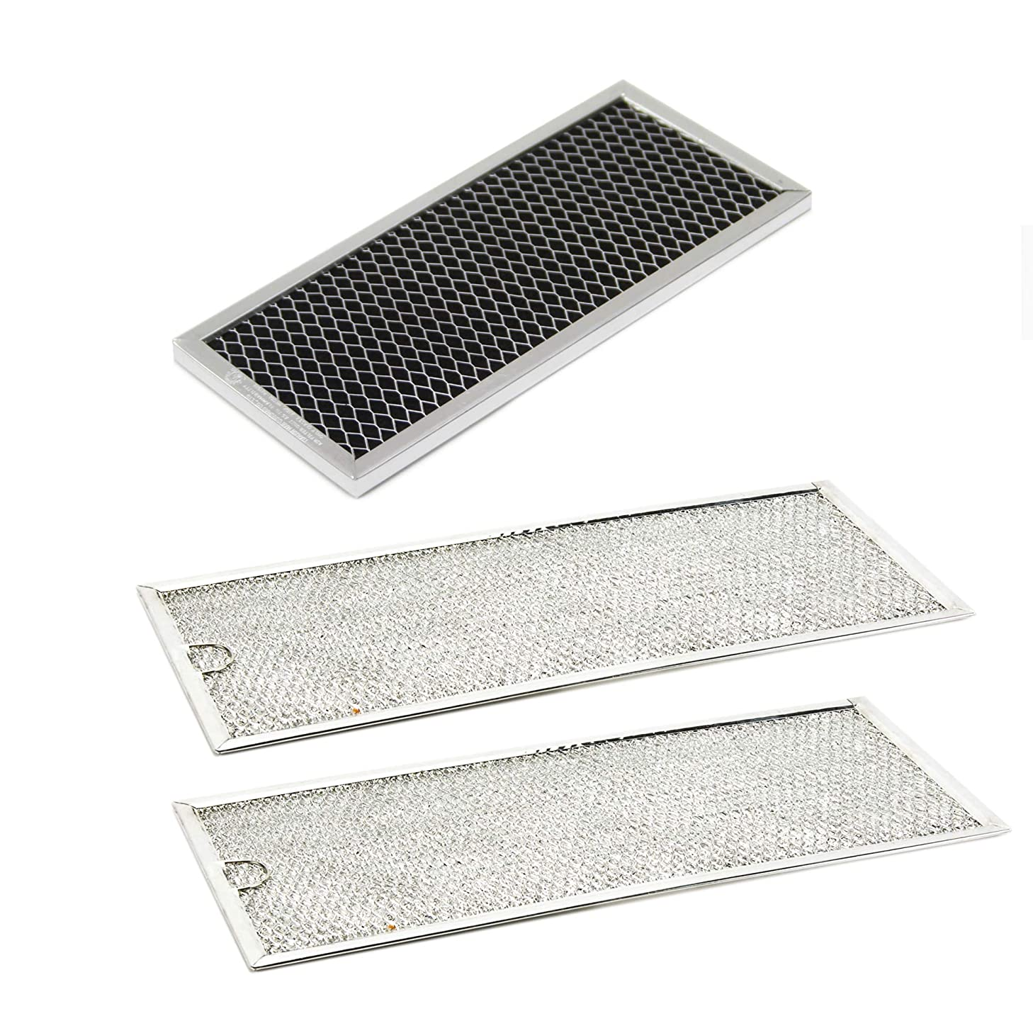 Kenmore DE63-00367H Microwave Charcoal Filter and DE63-00196A Grease Filter Bundle